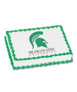 Michigan State University Edible Image Cake Topper - $8.99