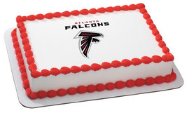 NFL-Atlanta Falcons Edible Image Cake Topper - $8.99