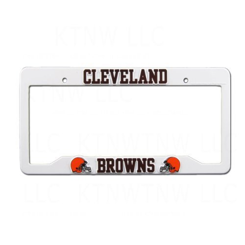 ab0e4cf2 NFL Cleveland Browns Plastic License Plate and 30 similar items