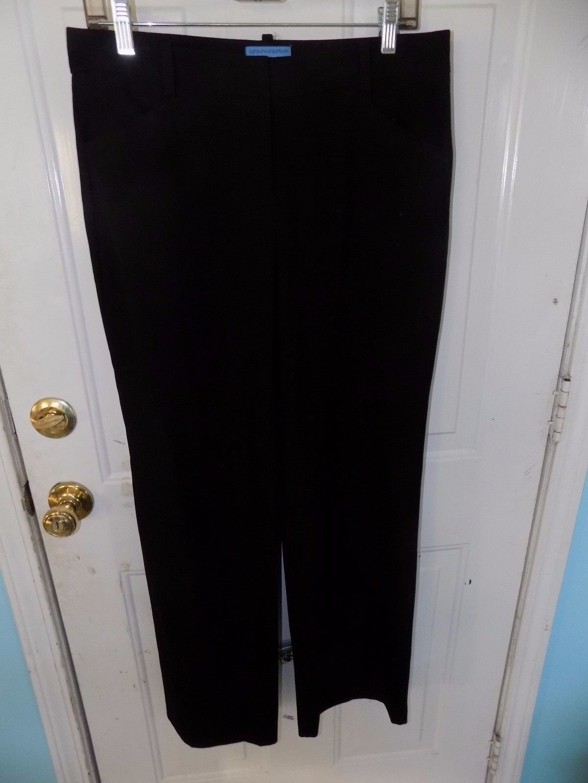 Primary image for Simply Vera Vera Wang Black Dress Pants Size 6 Women's EUC