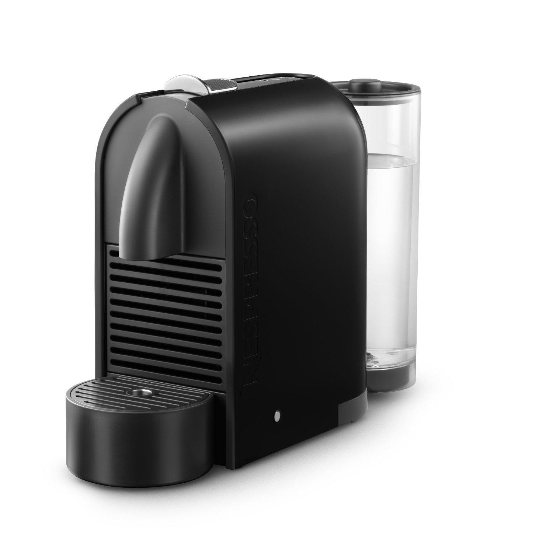 nespresso u d50 espresso maker with aeroccino milk frother. Black Bedroom Furniture Sets. Home Design Ideas
