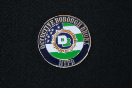 NYPD DETECTIVE BOROUGH BRONX CHALLENGE COIN / SIMPSON STREET  - $34.95