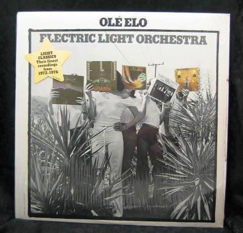Electric Light Orchestra Ole Elo 1976 United Artists Records