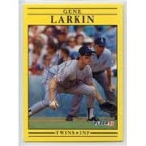 1991 Fleer Baseball Gene Larkin #615 - $0.20