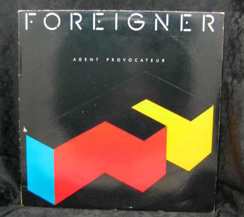 Foreigner Agent Provocateur 1984 Atlantic Records 81999 1 E