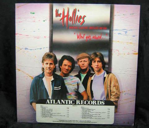 The Hollies What Goes Around 1983 Promo Record 80076 1