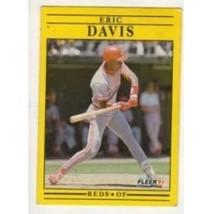 1991 Fleer Baseball Eric Davis #61 Nm  - $0.20