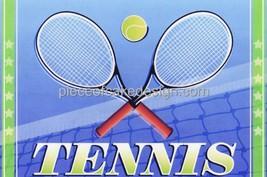 Tennis ~ Edible Image Cake Topper - $8.54