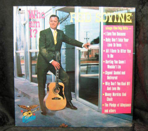 Red Sovine Who Am I? 1969 Starday Records SLP 445