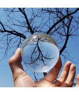 80MM Contact Juggling Ball 100% Acrylic Transparent Crystal Ball Stage B... - $30.85