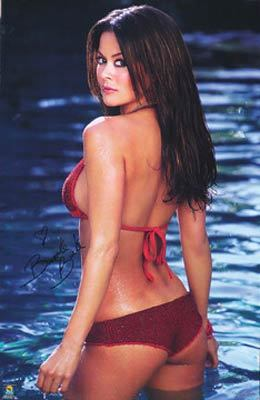 Brooke Burke Sexy Swimsuit Poster