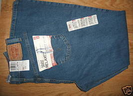 Ladies LEVIS 6P Boot Cut Blue Classic 550 Relaxed JEANS Stretch Petite N... - $24.99