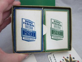 Advertising playing cards. Home Federal Savings & Loan - $12.99