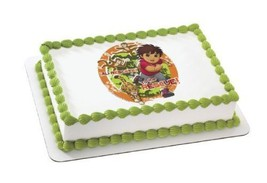 "2"" Round ~ Go Diego Go To the Rescue Birthday ~ Edible Image Cake/Cupcak... - ₹614.68 INR"