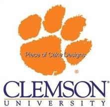 "2"" Round ~ Clemson University Logo ~ Edible Image Cake/Cupcake Topper!!! [Misc.] - $8.54"