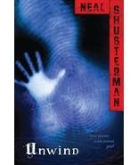 UNWIND by Neal Shusterman (2009) - $5.94