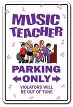 MUSIC TEACHER Sign parking lessons instructor b... - $7.79