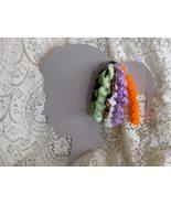 Halloween Spiral Curlicue Handmade Hair Clips  - $8.00