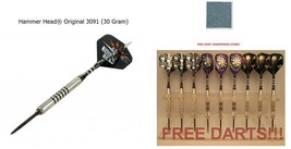 BOTTELSEN HAMMER HEAD 3091 Smooth Grip Dart Set 90% Tungsten Moveable Point - $100.69
