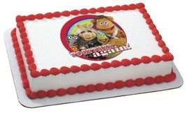 """2"""" Round ~ Muppets Together Again Birthday ~ Edible Image Cake/Cupcake T... - $8.54"""