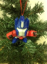Optimus Prime Transformers Christmas Tree Ornament - $12.88