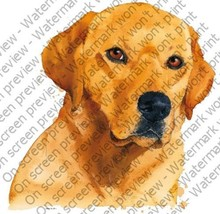 "2"" Round ~ Yellow Lab Dog ~ Edible Image Cake/Cupcake Topper!!! [Misc.] - $11.16 CAD"