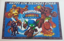 Game/Play Skylanders Giants Personalized Edible Image Kid/Child [Toy] - $8.54