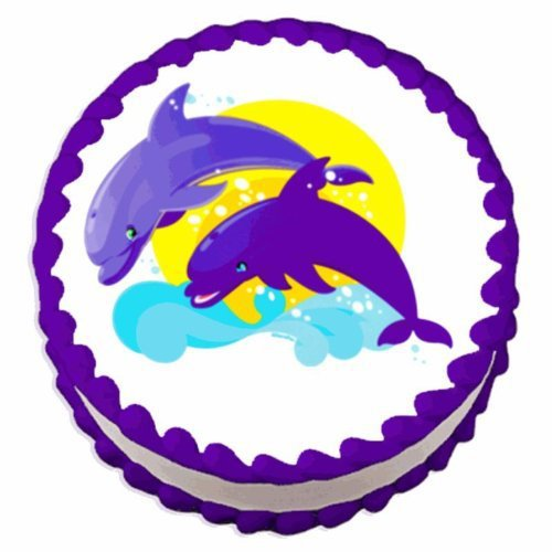 Dolphin Cake Topper Candles