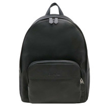NWT COACH Houston Backpack Shoulder Bag Luxury Smooth Black Leather F493... - $226.71