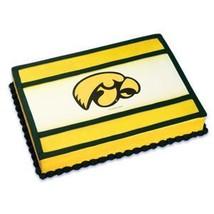 1/4 Sheet ~ University of Iowa Logo Birthday ~ Edible Image Cake/Cupcake... - ₨596.30 INR