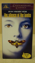 MGM The Silence Of The Lambs VHS Movie  * Plast... - $4.69