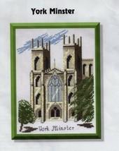 Eileen Anderson Designs Cross Stitch Kit York Minster Church Hard to Find - $39.23