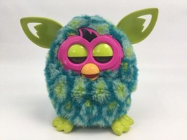 Furby Teal Blue Toy Hasbro 2012 Lights Up Does Not Talk - $14.69