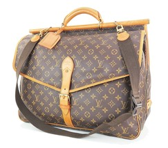 Authentic LOUIS VUITTON Monogram Sac Chasse Hunting Travel Bag #34226 - $795.00