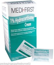 Hydrocortisone 1% Cream Anti-itch 6 Boxes (864 Packets)  - MS60730 - $82.70