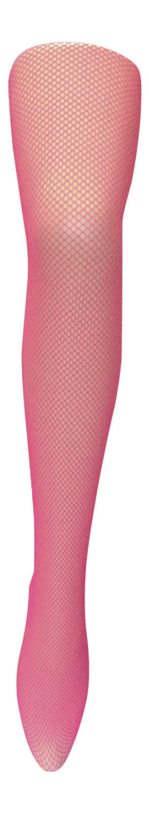 Sock Snob - Ladies Sexy Neon Coloured Dance Coloured Fishnet Tights 8 - 14 uk