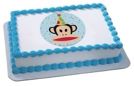 "2"" Round ~ Paul Frank Birthday Hat Birthday ~ Edible Image Cake/Cupcake ... - €7,31 EUR"