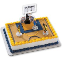 Basketball All Net DecoSet Cake Decoration - Boys [Toy] - $5.23