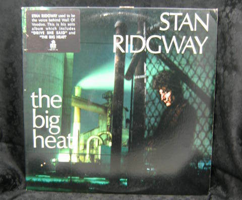 Stan Ridgway The Big Heat 1986 Promo Album IRS 5637