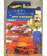 2020 Hot Wheels Netflix Fast & Furious Spy Racers  HYPERFIN Red w/Chrome... - $8.50