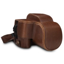 MegaGear MG1598 Ever Ready Leather Camera Case Compatible with Canon Pow... - $88.99