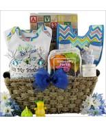Baby's First Birthday: Large Baby Boy Birthday Gift Basket - $199.99