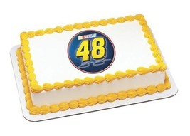 "2"" Round ~ Jimmie Johnson #48 Logo ~ Edible Image Cake/Cupcake Topper!!!... - ₹614.68 INR"