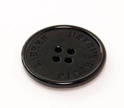"Ralph Lauren Dark tortoise blend Plastic Replacement Main Front  button .80/"""