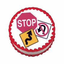 Road Signs ~ Edible Image Cake / Cupcake Topper - $7.60