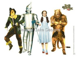 1/4 Sheet ~ Wizard of Oz Group Shot Birthday ~ Edible Image Cake/Cupcake... - $8.54