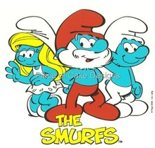 "2"" Round ~ The Smurfs Group Birthday ~ Edible Image Cake/Cupcake Topper!!! - $8.54"