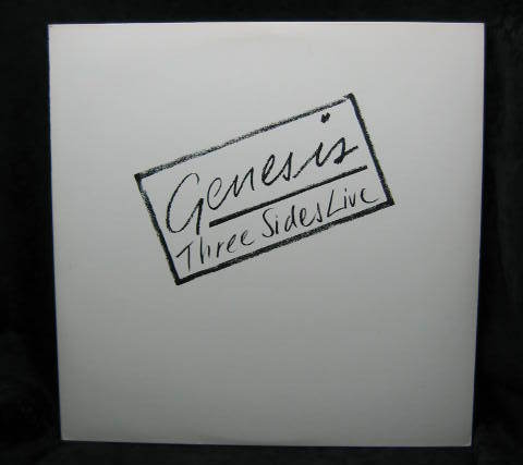 Genesis Three Sides Live 1982 Atlantic Records