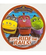 "8"" Round ~ Chuggington Lets Ride The Rails Group Birthday ~ Edible Image... - $8.54"