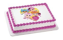 "2"" Round ~ Lalaloopsy Sew Cute Birthday ~ Edible Image Cake/Cupcake Topp... - ₨529.97 INR"